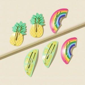 5/$12 💞 Fun Summer Barrettes
